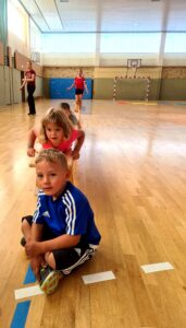 Read more about the article Kindersport in vollem Gange